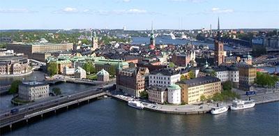 Déménagement Stockholm et Suède